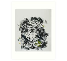 Untitled Abstract Study 36 Art Print
