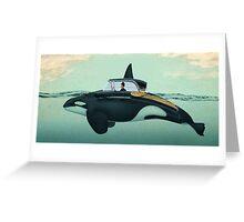The Turnpike Cruiser of the sea Greeting Card