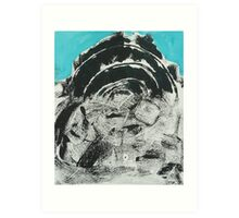 Untitled Abstract Study 40 Art Print