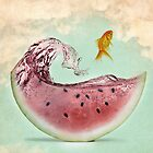 Watermelon goldfish 02 by vinpez