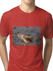 Alligator Action Tri-blend T-Shirt