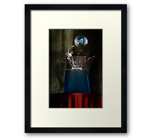 I've always believed in survival. Framed Print