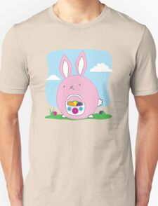 Easter Bunny with basket and eggs T-Shirt