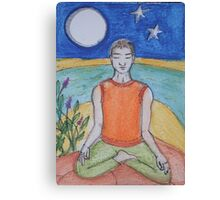 Tranquil Meditation Canvas Print