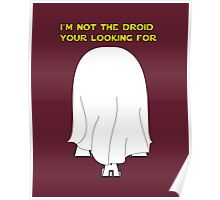 I'm not your driod! Poster
