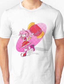 Persistent Pink Piko-Piko Professional Unisex T-Shirt