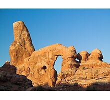 Turret Arch in Morning Light Photographic Print
