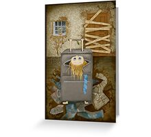 Do not leave me Greeting Card