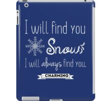 Once upon a time quote (2)  iPad Case/Skin