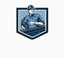 Brick Layer Mason Masonry Worker Retro Unisex T-Shirt