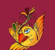 Fire bird by rafo