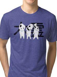 Princess Mononoke - Kodama gathering Tri-blend T-Shirt