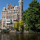 Amsterdam Canal Mansions - the Dainty Tower by Georgia Mizuleva