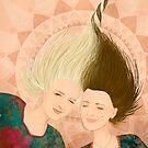 Two sisters by Ruta Dumalakaite