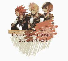 Kingdom Hearts T-Shirt  by Beastly