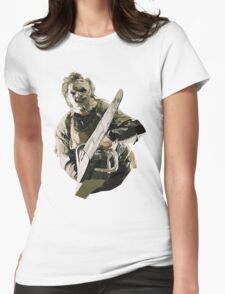 Texas Chainsaw Womens Fitted T-Shirt