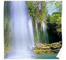 Kursunlu Falls near Antalya Poster
