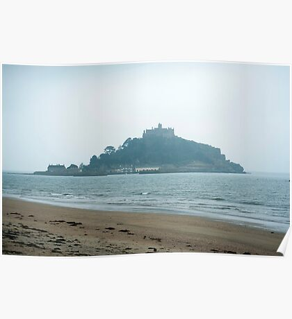 St Michaels Mount, Cornwall Poster