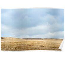 Ribblehead moorland Poster