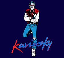 Kavinsky Blue by Luigi Bebel