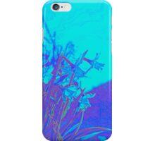 Floral Blue iPhone Case/Skin