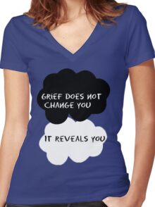 TFIOS - t 2 Women's Fitted V-Neck T-Shirt