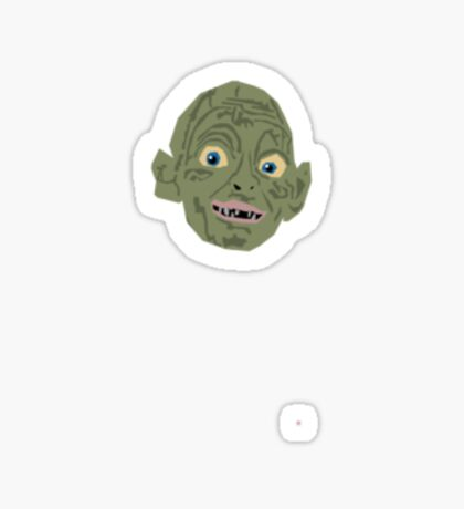 Gollum Sticker