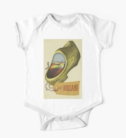 Vintage poster - Holland One Piece - Short Sleeve