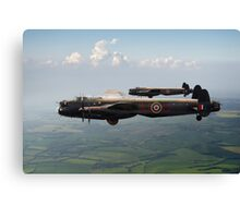 Lancasters AJ-G and AJ-N carrying Upkeeps Canvas Print