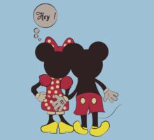 Naughty Mickey & Minnie Mouse T Shirt by adrianp