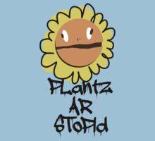 PLantz AR SToPiD, Art Inspired by Plants Versus Zombies: Garden Warfare Kids Clothes