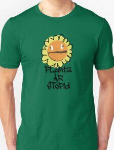PLantz AR SToPiD, Art Inspired by Plants Versus Zombies: Garden Warfare T-Shirt