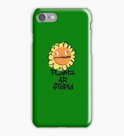 PLantz AR SToPiD, Art Inspired by Plants Versus Zombies: Garden Warfare iPhone Case/Skin