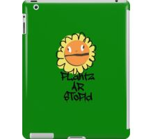 PLantz AR SToPiD, Art Inspired by Plants Versus Zombies: Garden Warfare iPad Case/Skin