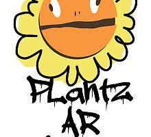 PLantz AR SToPiD, Art Inspired by Plants Versus Zombies: Garden Warfare by RocketmanTees