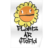 PLantz AR SToPiD, Art Inspired by Plants Versus Zombies: Garden Warfare Poster