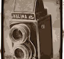 Vintage Camera - 5 by mongoliandevil