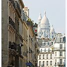 Sacre Coeur Basilica, Paris by Claire McCall