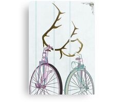Bicycle Love Metal Print
