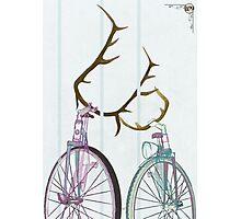 Bicycle Love Photographic Print
