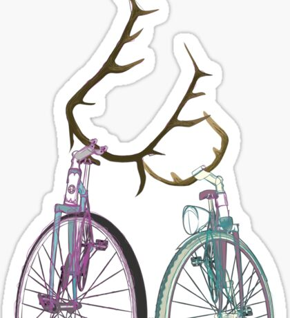 Bicycle Love Sticker