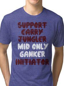 Dota 2 - Mid only Tri-blend T-Shirt