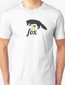 I love my fox Unisex T-Shirt