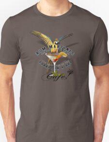 parrot in a hat 5 Unisex T-Shirt