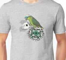 parrot in a hat 6 Unisex T-Shirt