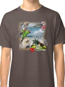 parrot in a hat 6 Classic T-Shirt