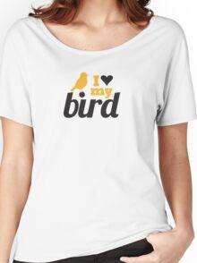 I love my bird Women's Relaxed Fit T-Shirt