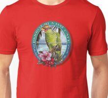 parrot in a hat 7 Unisex T-Shirt