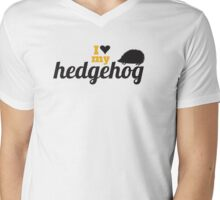 I love my hedgehog Mens V-Neck T-Shirt