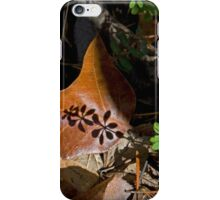 Fall Shadows iPhone Case/Skin